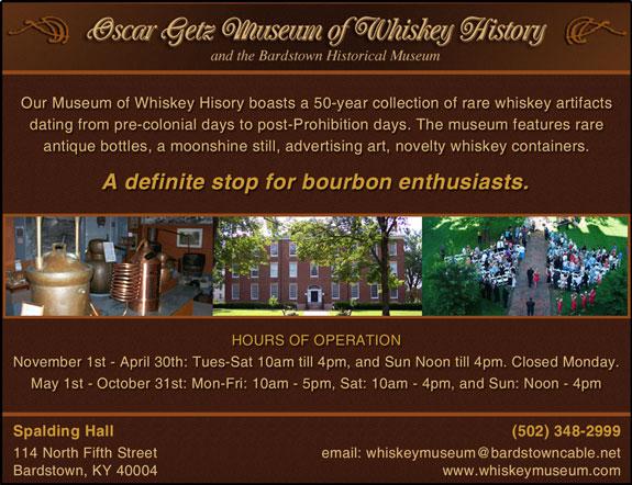 Oscar Getz Whiskey Museum