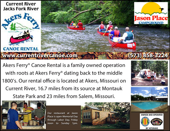 Akers Ferry Canoe Rentals and Jason Place Campground