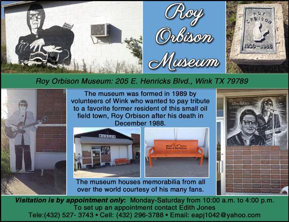 Roy Orbison Museum