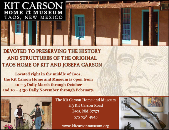 The Kit Carson House and Museum