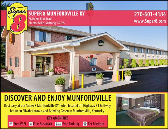 Super 8 - Munfordville, KY