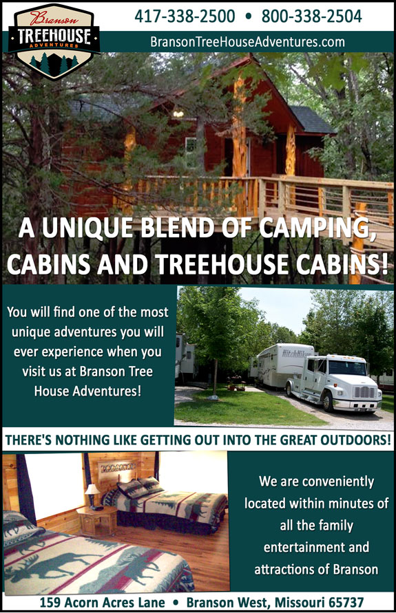 Branson Treehouse Adventures And RV