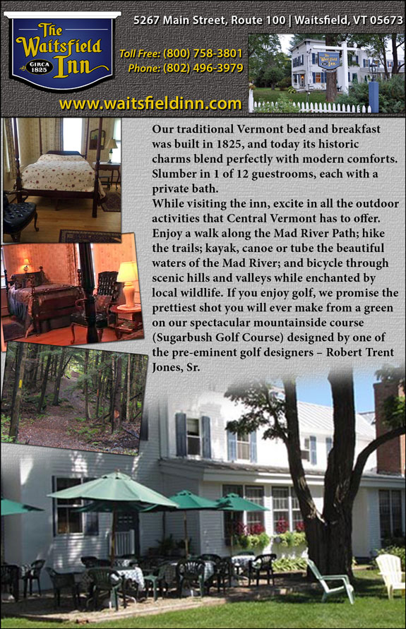 The Waitsfield Inn Bed and Breakfast