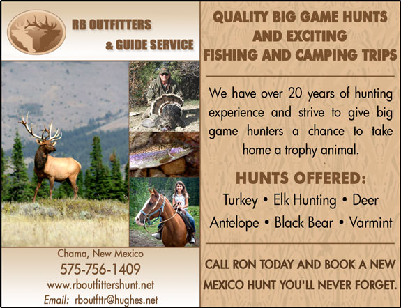 RB Outfitters and Guide Services