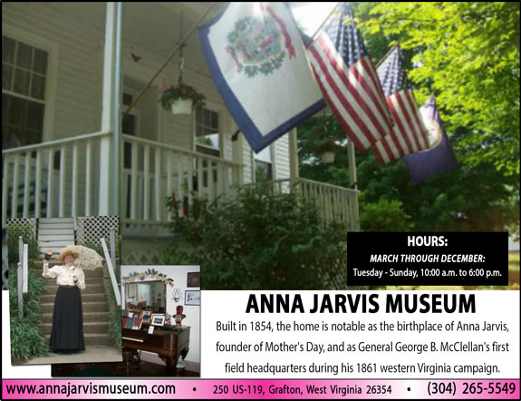 Anna Jarvis Birthplace Museum