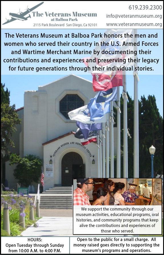 The Veteran's Museum at Balboa Park