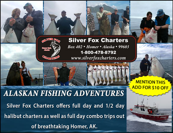 Silver Fox Charters/Lodge at Homer