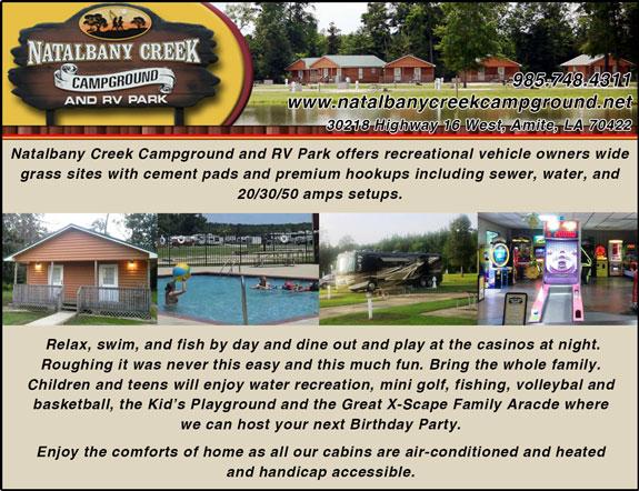Natalbany Creek Campground