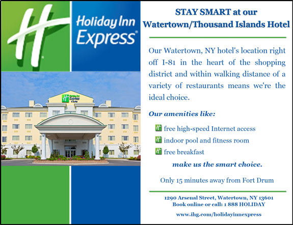Holiday Inn Express and Suites - Watertown