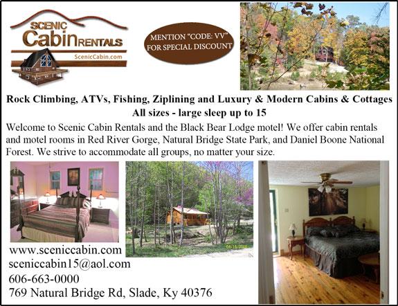 Scenic Cabin Rentals