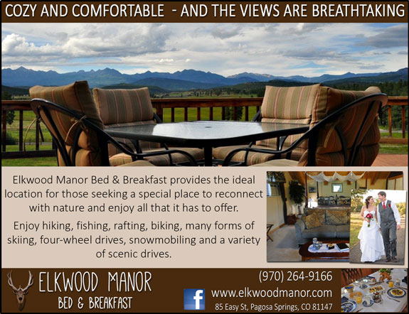 Elkwood Manor Bed and Breakfast