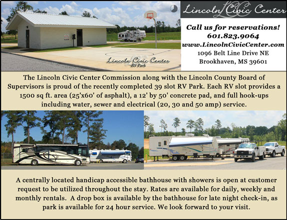 Lincoln Civic Center RV Park