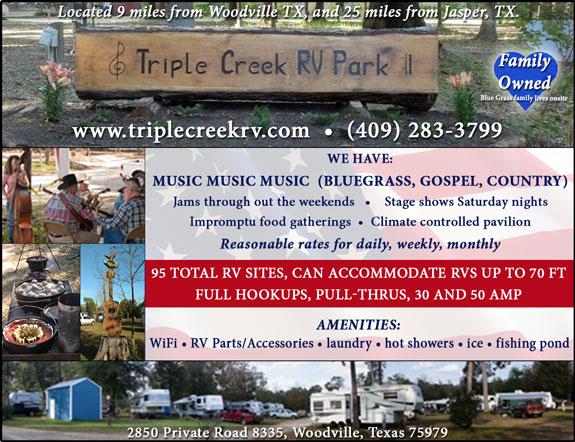Triple Creek RV Music Park