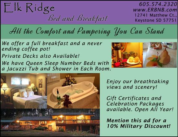 Elk Ridge Bed and Breakfast