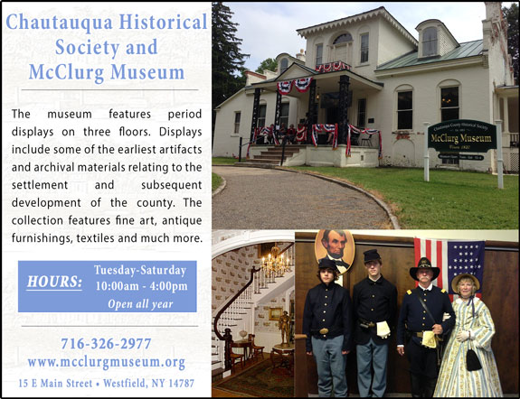 Chautauqua Historical Society and McClurg Museum