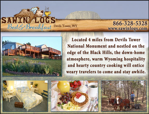 Sawin' Logs Bed and Breakfast