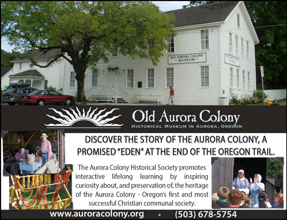 Old Aurora Colony Museum