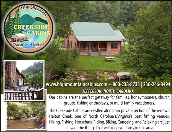 High Mountain Creekside Cabins