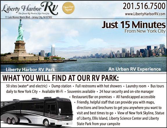 Liberty Harbor Marina and RV Park