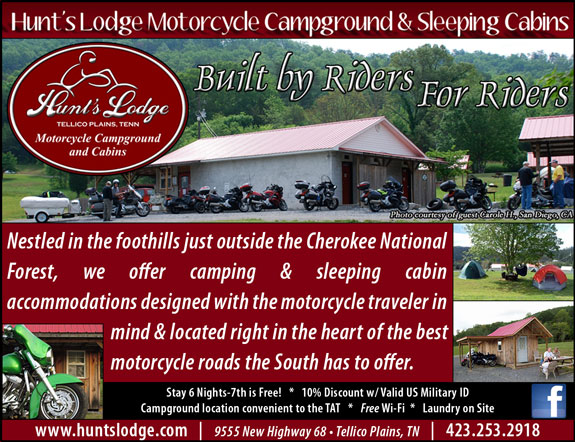 Hunts Lodge Motorcycle Campground