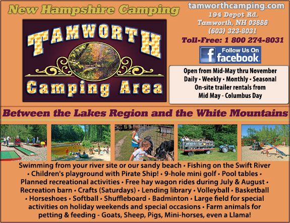 Tamworth Camping Area
