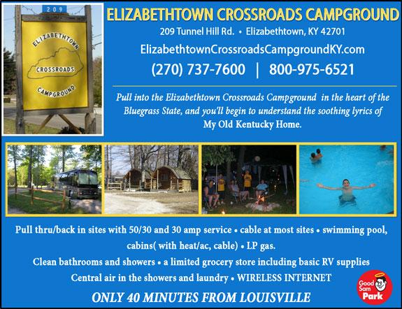 Elizabethtown Crossroads Campground