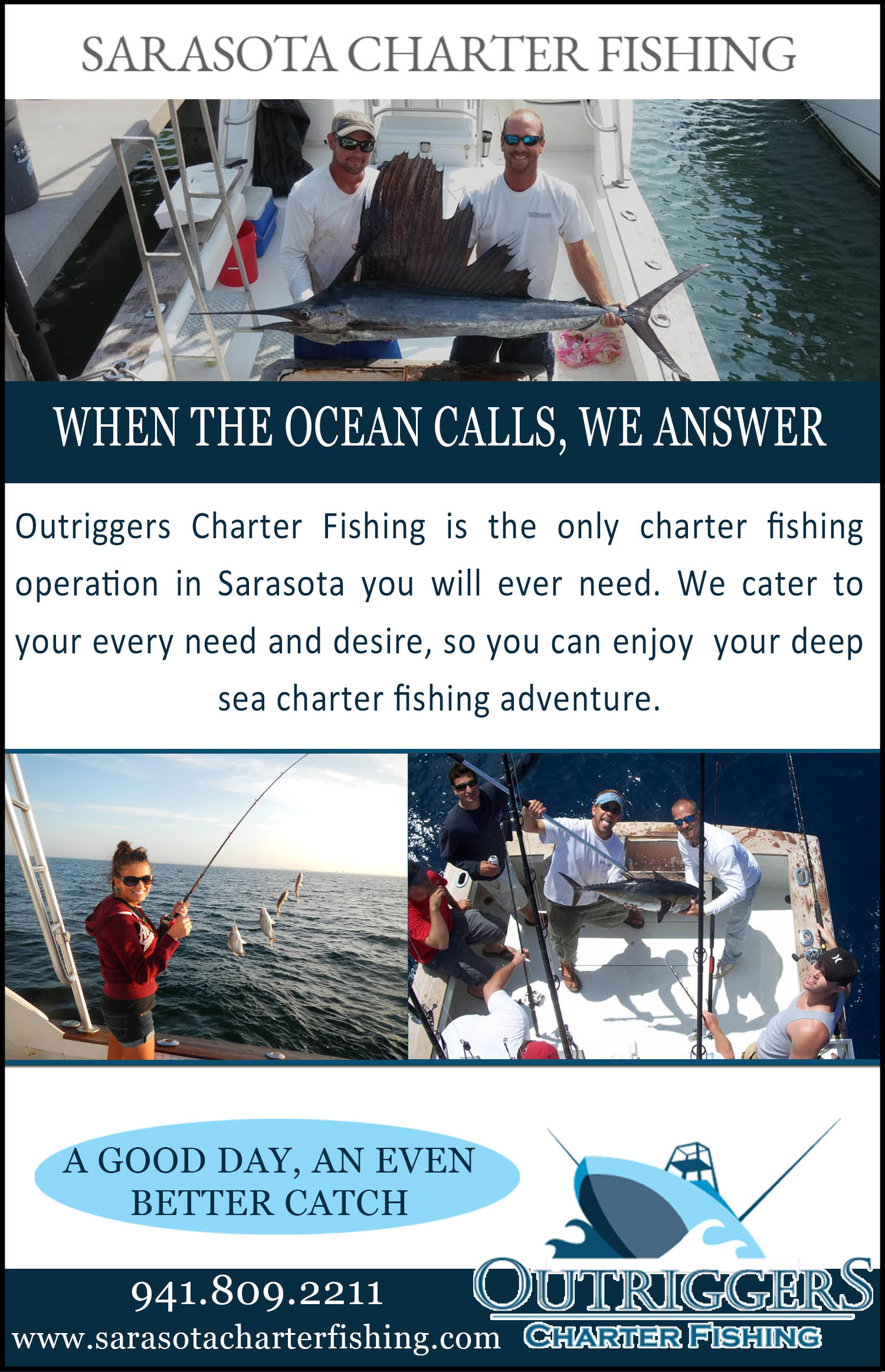 Outriggers Charter Fishing