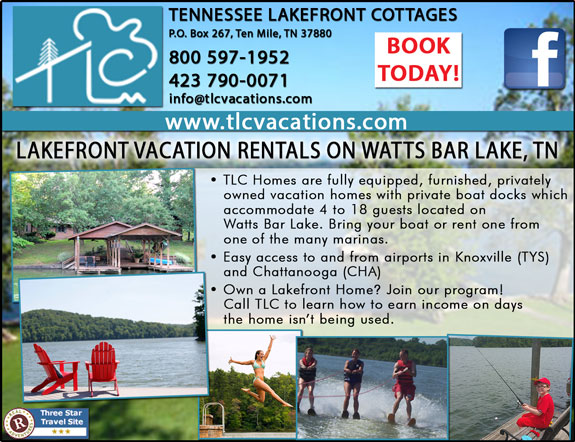 Tennessee Lakefront Cottages
