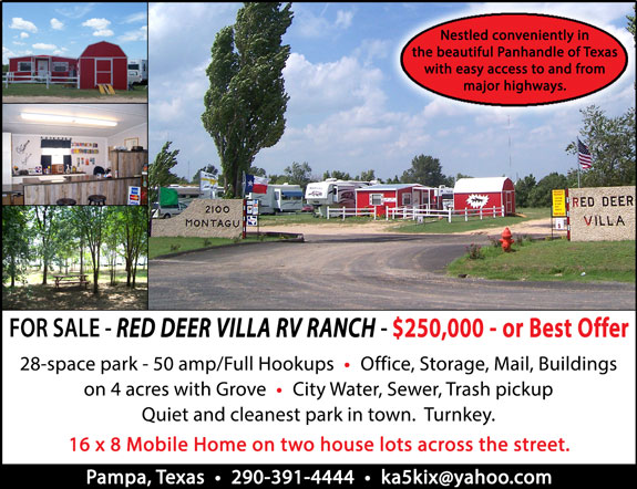 Red Deer Villa RV Ranch