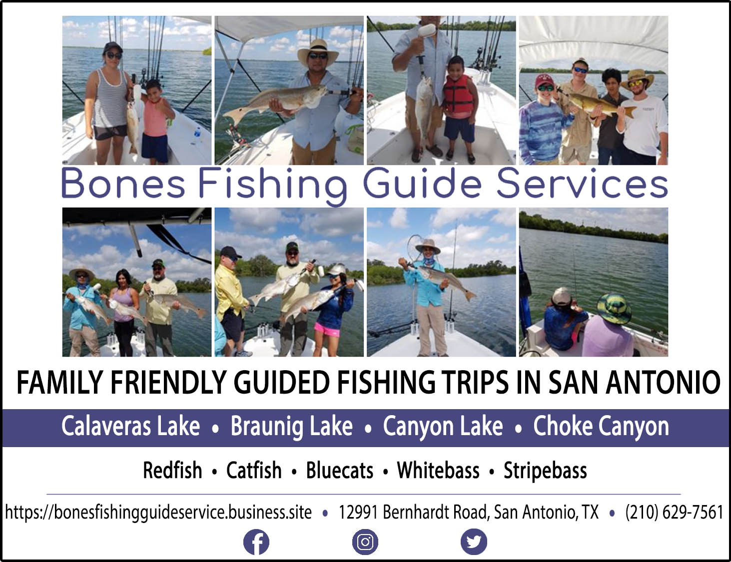 Bones Fishing Guide Service