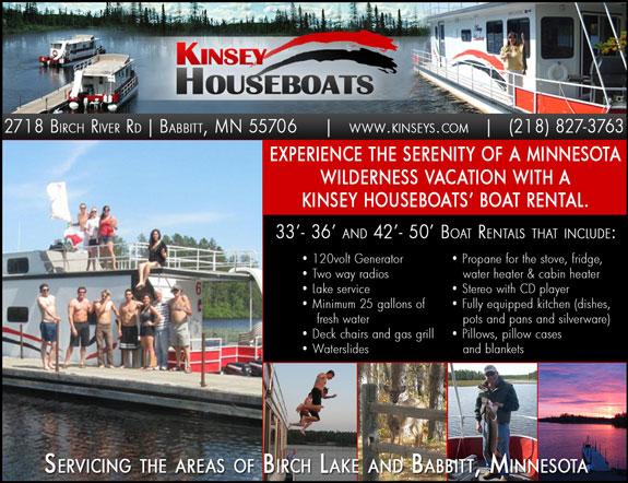 Kinsey's Houseboats