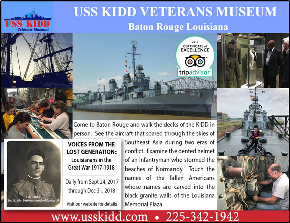 USS Kidd Veterans Memorial