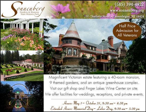 Sonnenberg Gardens and Mansion