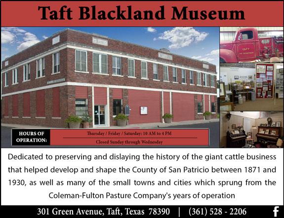 Taft Blackland Museum