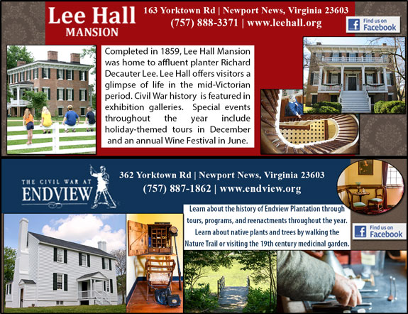 Lee Hall Mansion and Endview Plantation