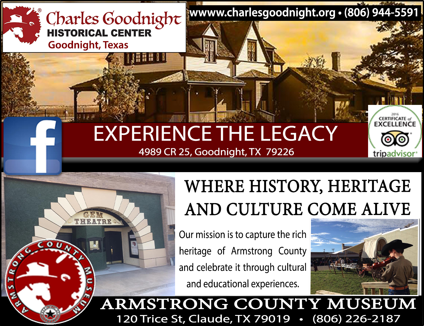 Goodnight Historical Center/Armstrong County Museum