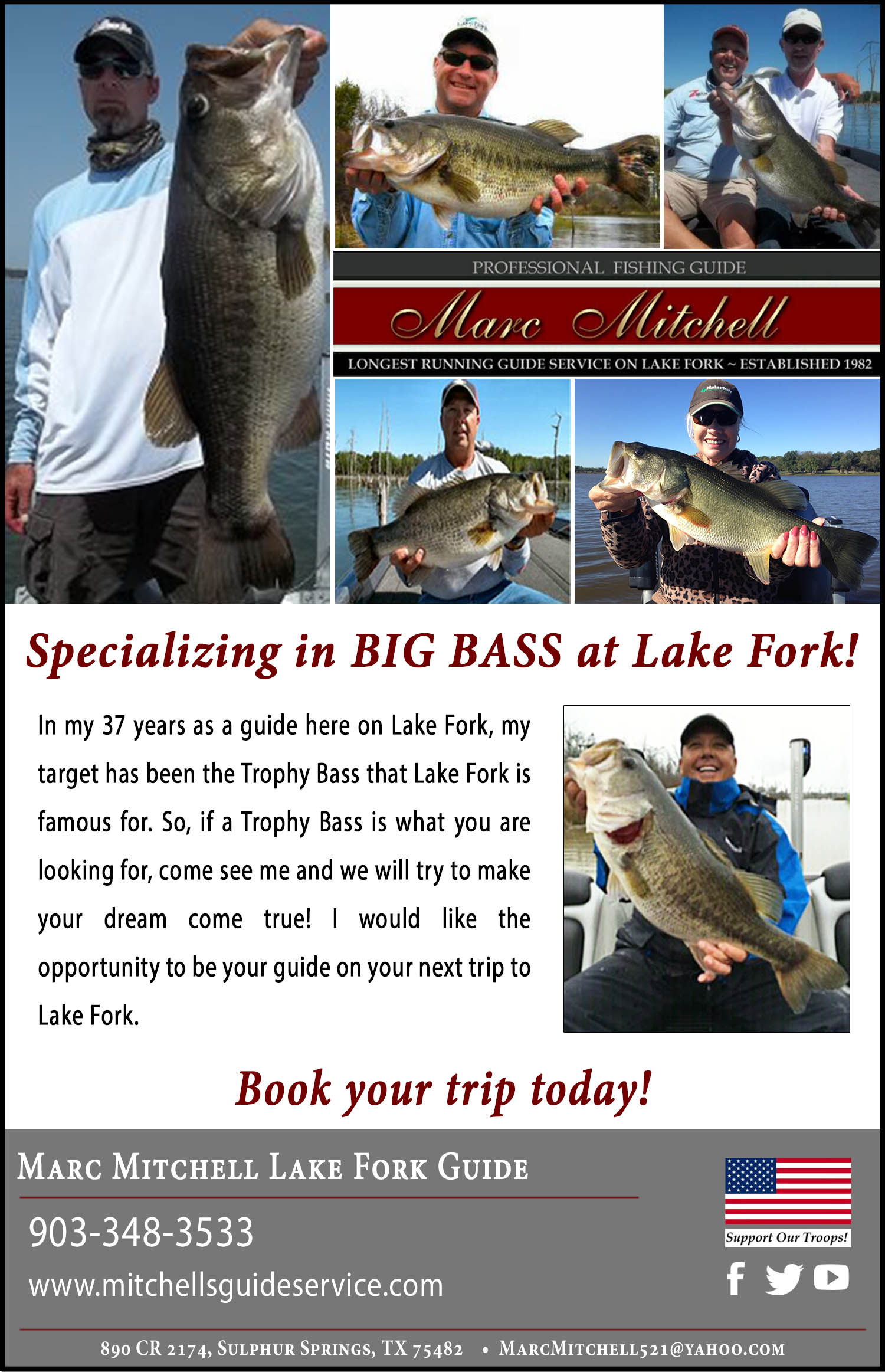 Marc Mitchell Lake Fork Guide Service