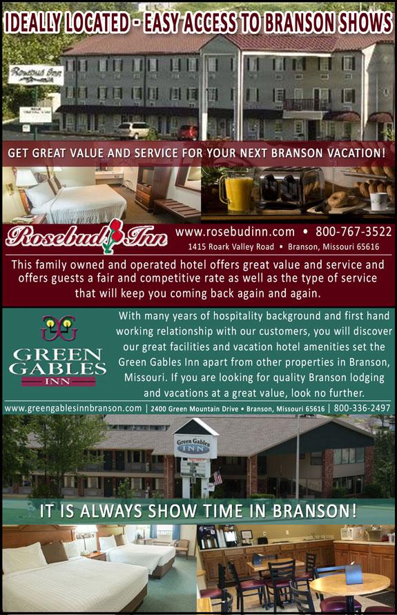 Green Gables and Rosebud Inn