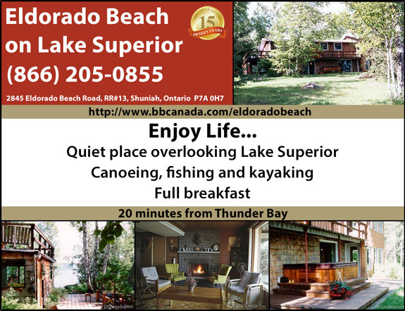 Eldorado Beach on Lake Superior