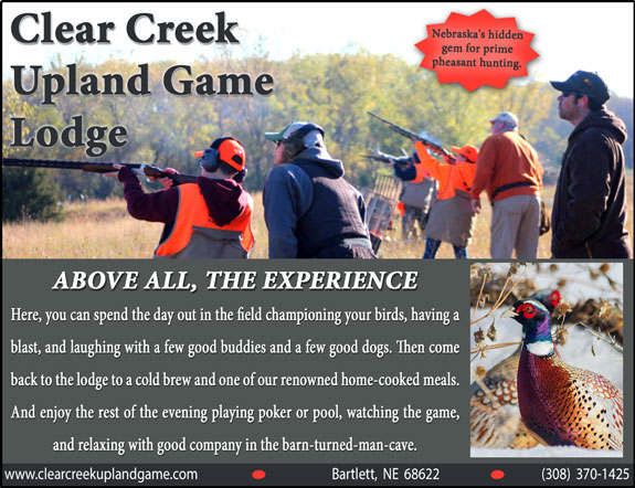 Clear Creek Upland Game Lodge