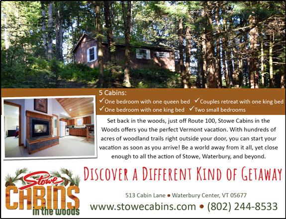 Stowe Cabins in the Woods
