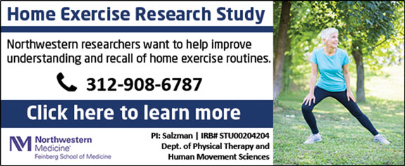 Northwestern University Home Exercise Research Study
