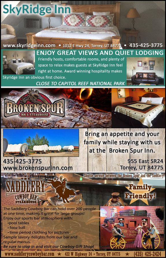 SkyRidge Inn - Broken Spur Inn & Steakhouse - The Saddlery Cowboy Bar