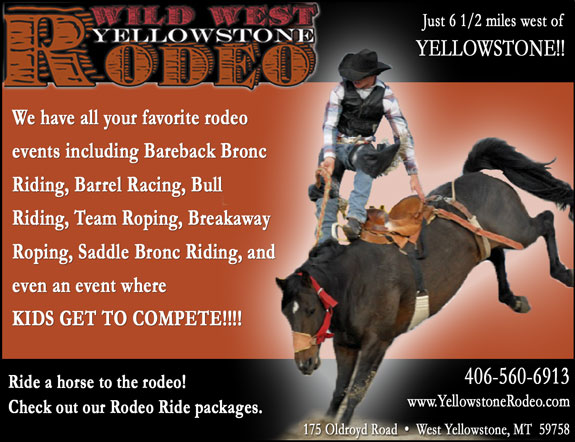 Wildwest Yellowstone Rodeo