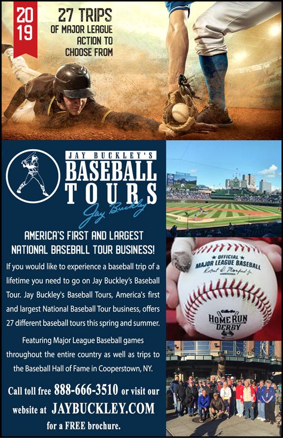 Jay Buckley's Baseball Tours