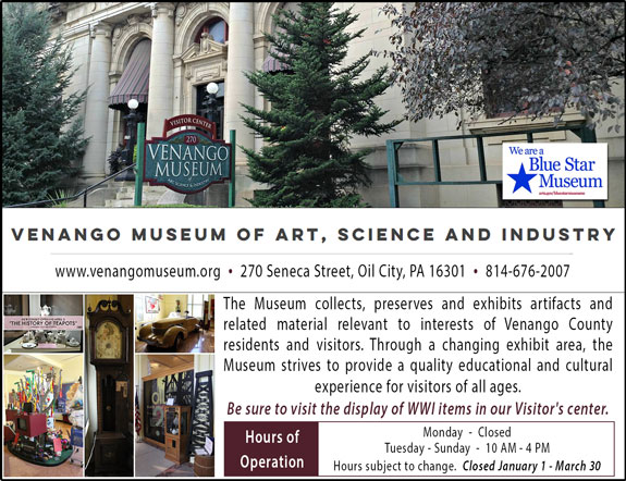 Venango Museum of Art Science and Industry