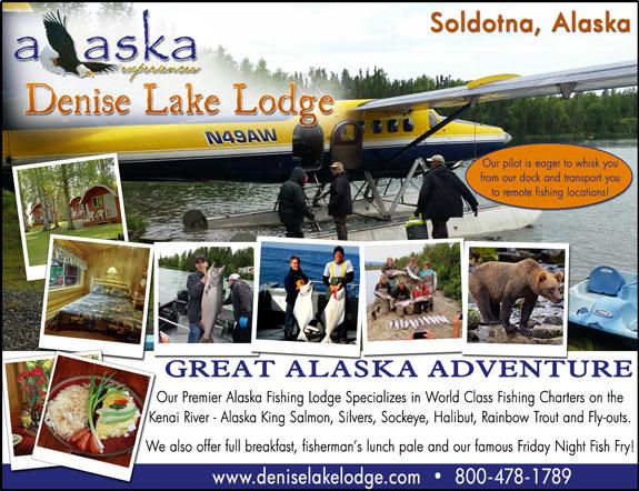 Alaska Denise Lake Lodge