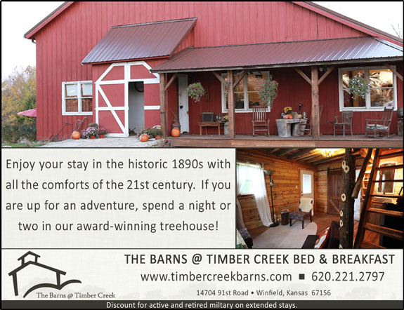 Barns @ Timber Creek Bed and Breakfast