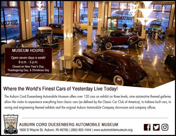 Auburn Cord Duesenberg Auto Museum