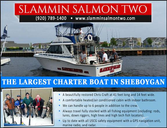 Slammin Salmon Two Charters